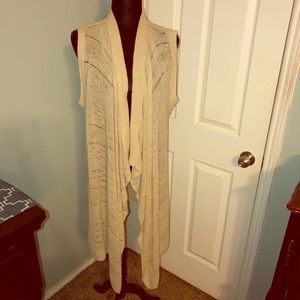 Nude Knox Rose long sweater vest